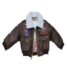 """Kid's """"G-1″ Jacket with Patches"""