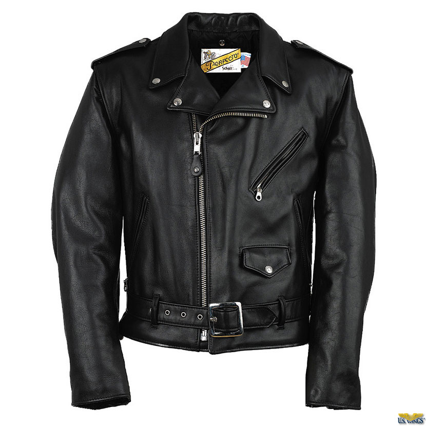 Perfecto Brand When Irving Schott began making his elite line of leather jackets in the s he called the collection
