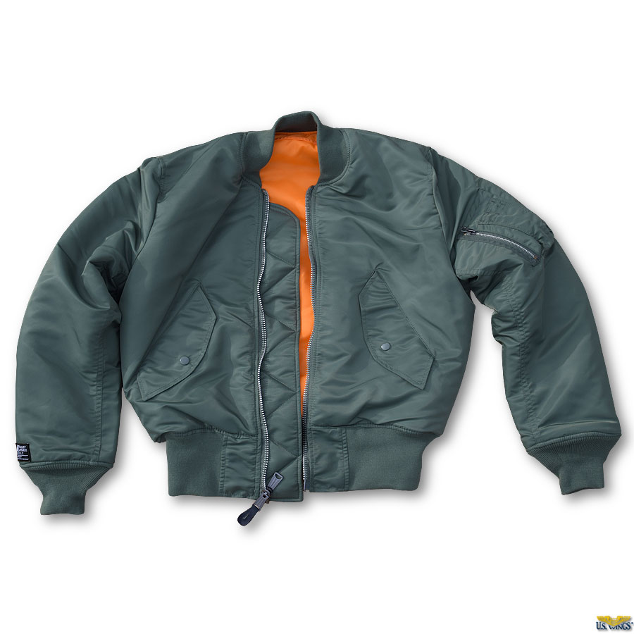 Where can you find a USA-made MA-1 Flight Jacket? - US Wings