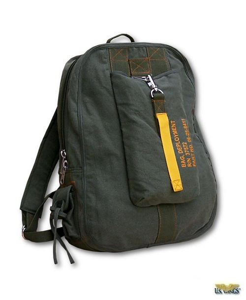 Vintage Canvas Flight Bags