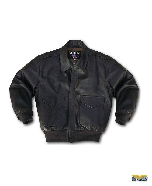 Kids Leather A-2 Jacket