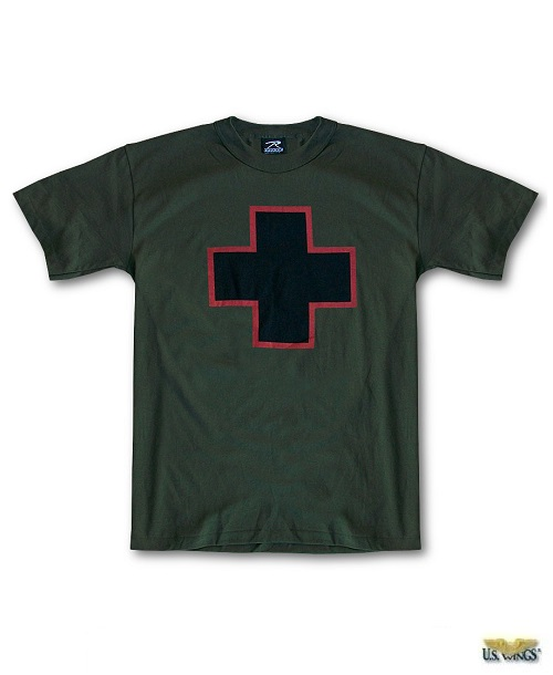 US Wings Vintage-Logo American Pride Cross T-Shirt