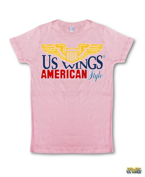 US Wings American Style Outline Logo T-Shirt