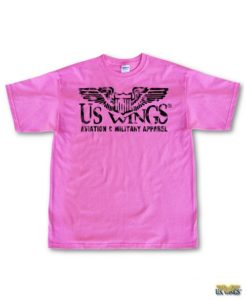 US Wings Vintage-style Aviation & Military Apparel T-Shirt
