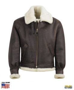 B-3 Shearling Bomber Jacket
