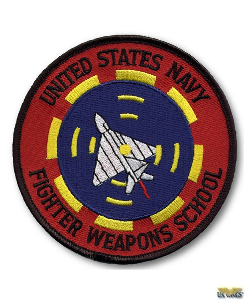 USN Fighters Weapon School Patch