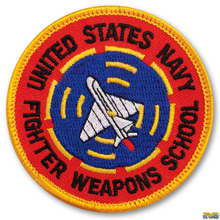 923f487754a US Navy Fighter Weapon School Patch