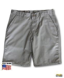 USW Adventure Gear™ Khaki Plain Front Hiking Shorts