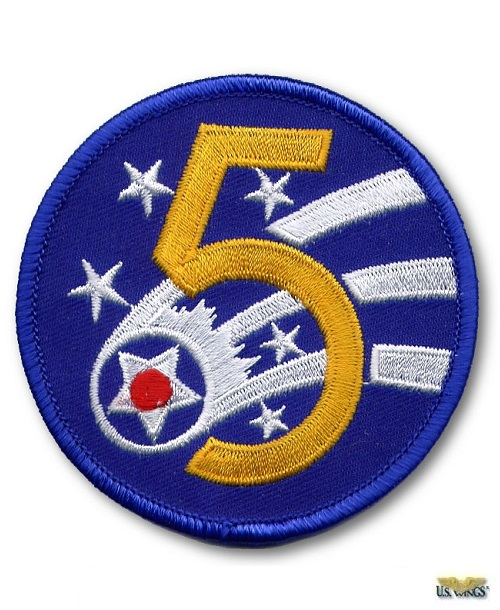 5th AAF Patch