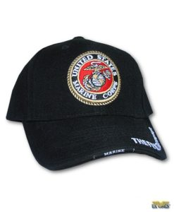 Raised Logo USMC Cap
