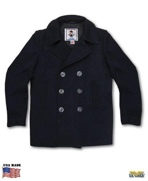 Sterlingwear of Boston Authentic Peacoat