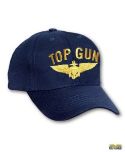 US Wings Top Gun Cap with Wings