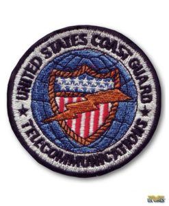USCG Telecommunications Patch