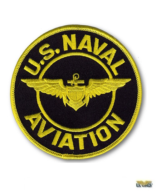 US Naval Aviation Patch - Small