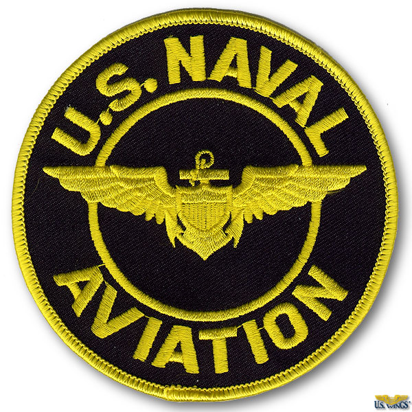 4d73c6253ec US Naval Aviation Patch - Small