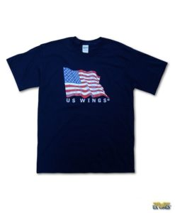 US Wings Kids US Flag T-Shirt