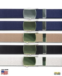 US Military Web Belts