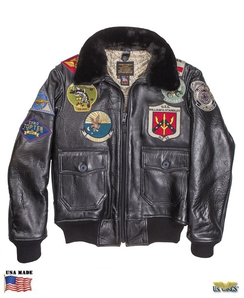 d9cb84b8102 The Cockpit® USA Top Gun Navy G-1 Jacket
