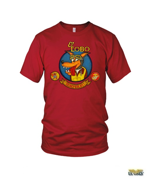 El Lobo Nose Art T-Shirt