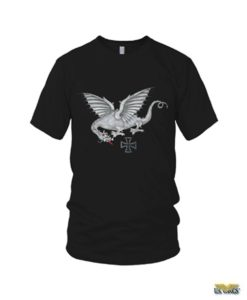 Iron Dragon WWII Bomber Nose Art T-Shirt