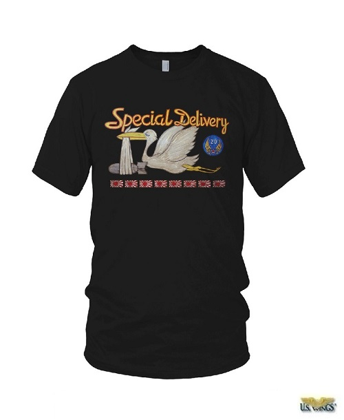 Special Delivery Nose Art T-Shirt
