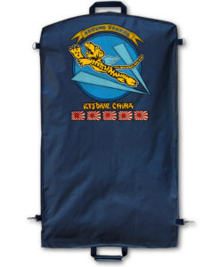 Flying Tigers Nose Art Garment Bag