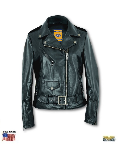 Schott Women's Cowhide Perfecto 536 Motorcycle Jacket