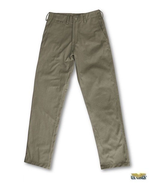 US Wings Adventure Gear™ Plain Front Chino Khakis