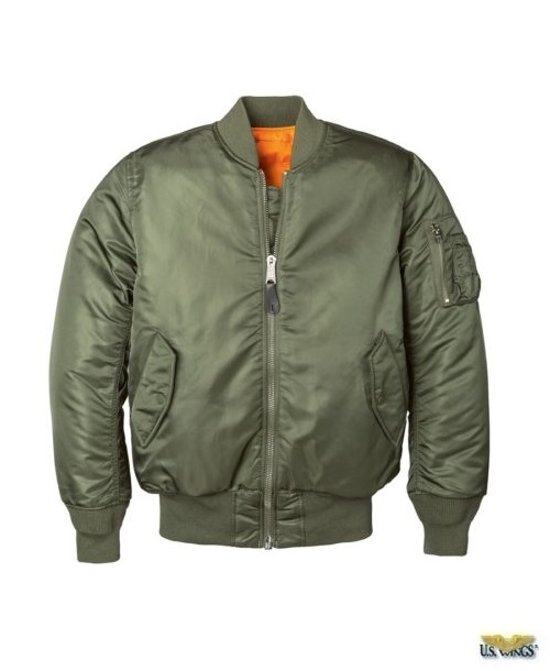 Women's MA-1 Flight Jacket - US Wings