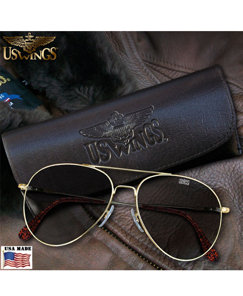 US Wings Top Gun Aviator Sunglasses by American Optical®