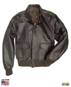 Cockpit® WWII Horsehide Leather A-2 Bomber Jacket