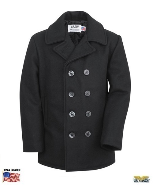 Men's US Military Issue Peacoat