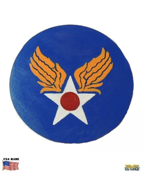 Hand Painted USAAF Leather Patch