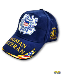 US Coast Guard Woman Veteran Cap