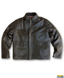 US Wings Goatskin Indy-Style Adventurer Jacket