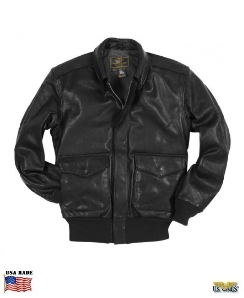 Cockpit® USA USAF 21st Century Black A-2 Jacket