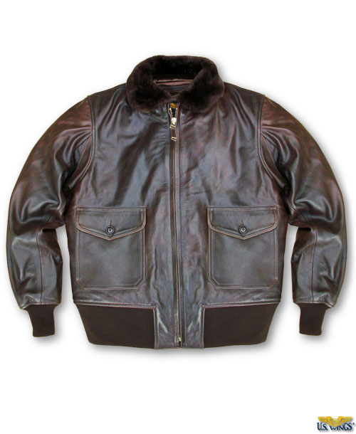 "US Wings ""Old Salt"" Cape Buffalo G-1 Jacket"