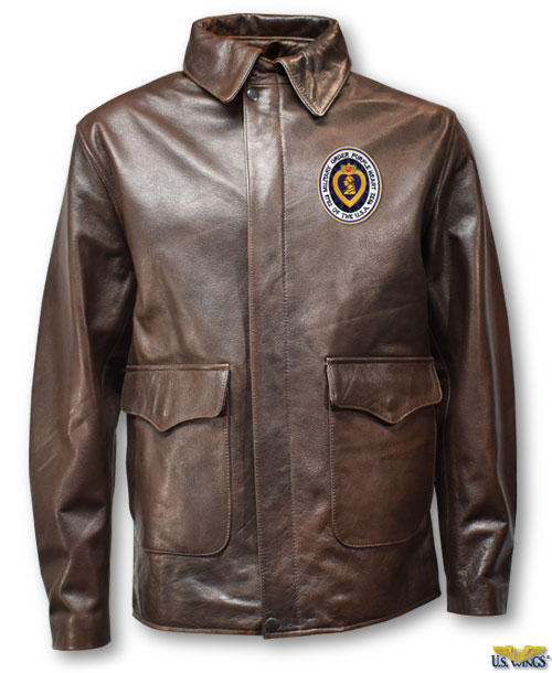 Purple Heart Cape Buffalo Indy-Style Adventurer Jacket