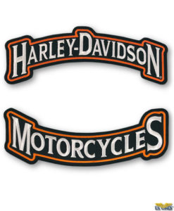 Harley-Davidson Biker's Back Patch