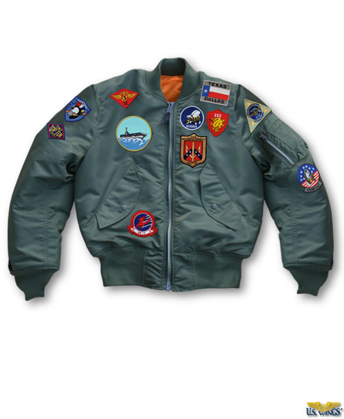 Top Gun Maverick MA-1 Flight Jacket