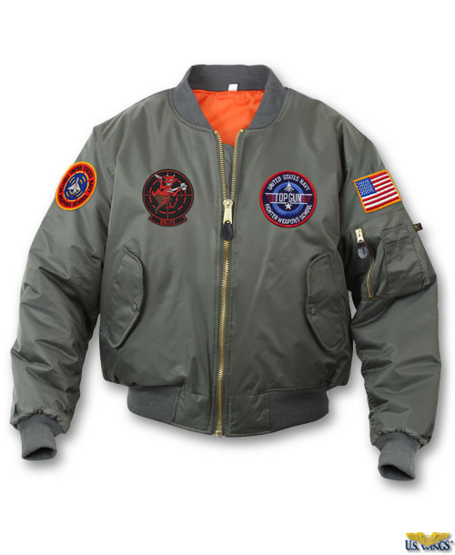 Kids Top Gun-Maverick MA-1 Jacket